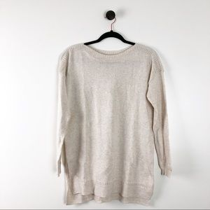 Old Navy Tunic Drop Sleeve Sweater Brown Tan Small